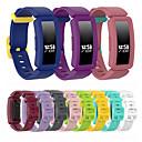 ราคาถูก วง Smartwatch-สายรัดข้อมือนาฬิกาข้อมือซิลิโคนสำหรับ fitbit สร้างแรงบันดาลใจ HR / Ace 2 สายรัดข้อมือสร้อยข้อมือเปลี่ยน