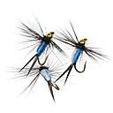 ราคาถูก เหยื่อตกปลา-6 pcs แฟ้มเอกสาร แฟ้มเอกสาร อุปกรณ์ลอยน้ำ Bass ปลาเทราท์ หอก Fly Fishing ปลาน้ำจืด การตกปลาคารฺ์พ Metal