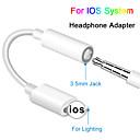 billiga Praktiska gåvor-hörlursuttagkabel ios 12 11 hörluraradapter för iphone xsmax xr xs x 8 7 hona till 3,5 mm hanadaptrar aux adapter för iphone