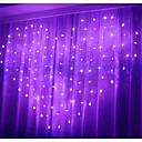 Χαμηλού Κόστους LED Φωτολωρίδες-2,5 μέτρα Φώτα σε Κορδόνι 138 LEDs Θερμό Λευκό / Μωβ / Ροζ Διακοσμητικό / Ημέρα του Αγίου Βαλεντίνου / Χριστούγεννα Νεό Σχέδιο / Όμορφο και κομψό 220-240 V 1set