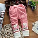 billige Babybukser-Baby Jente Grunnleggende Ensfarget / Trykt mønster Leggings Rosa
