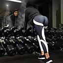 Χαμηλού Κόστους Γυμναστική, τρέξιμο και ρούχα γιόγκα-Γυναικεία Ψηλή Μέση Παντελόνι για γιόγκα Στάμπα Αμέθυστος Μαύρο / Κίτρινο Λευκό Βυσσινί Φούξια Ελαστίνη Τρέξιμο Fitness Προπόνηση Καλσόν Ποδηλασία Κολάν Αθλητισμός Ρούχα Γυμναστικής / Χειμώνας