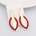 Χαμηλού Κόστους Μοδάτα Σκουλαρίκια-Γυναικεία Κρεμαστά Σκουλαρίκια Χαρά Μοντέρνο Μοντέρνα χαριτωμένο στυλ Σκουλαρίκια Κοσμήματα Λευκό / Πράσινο / Κόκκινο Για Καθημερινά Απόκριες Δρόμος Αργίες Φεστιβάλ