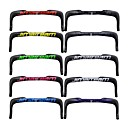 cheap Handlebars & Stems-Carbon Fiber Bike Handlebar TT Handlebar 31.8 mm 40/42/44 mm Cycling High Strength Comfortable Triathlon TT Fixed Gear Bike Cycling Black Violet Black / Yellow Glossy