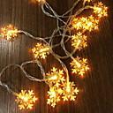 billiga Konstgjorda växter-3M Ljusslingor 20 lysdioder Varmvit Jul Dekorativ 5 V 1set