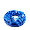 Χαμηλού Κόστους Καλώδιο Ethernet-50 μέτρα καλώδιο δικτύου cat5e για καλώδιο υπολογιστών μόντεμ rj-45 μπλε ethernet internet