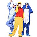 povoljno Kigurumi plišane pidžame-Kigurumi Kigurumi plišana pidžama Shark Sa životinjama Onesie pidžama Coral runo Bijela / Ink Blue / Plava Cosplay Za Uniseks Zivotinja Odjeća Za Apavanje Crtani film Festival / Praznik Kostimi
