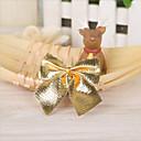Χαμηλού Κόστους Μοδάτα Σκουλαρίκια-12pcs τόξο Χριστουγεννιάτικα στολίδια πεταλούδα κόμμωση διακοσμητικά διακοπές