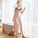 billige Kostymer, smykker og tilbehør-Dame Dyp V Strømpebånd og hofteholder Pyjamas - Fargeblokk