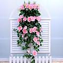 olcso Művirágok-művirágok 1 ág falra szerelt európai lelkipásztori stílusú rózsa falvirág