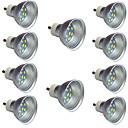 billiga LED-spotlights-10pcs 2 W LED-spotlights 340 lm GU10 12 LED-pärlor SMD 5730 Varmvit Vit 9-30 V