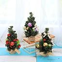 ราคาถูก ของตกแต่งวันคริสต์มาส-3 ชิ้นต้นคริสต์มาส 22 เซนติเมตรตกแต่งปีใหม่ตารางมินิตกแต่งต้นคริสต์มาสต้นไม้
