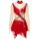 Χαμηλού Κόστους Φόρεμα για παγοδρομία-21Grams Φόρεμα για φιγούρες πατινάζ Γυναικεία Κοριτσίστικα Patinaj Φορέματα Βιολετί Λευκό / Λευκό Ουρανί Spandex Υψηλή Ελαστικότητα Ανταγωνισμός Ενδυμασία πατινάζ Διατηρείτε Ζεστό Χειροποίητο Jeweled