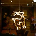 billiga Högtidspynt-transparent vit jul crystal påfågel hänga dekoration