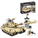 Χαμηλού Κόστους Building Blocks-Τουβλάκια Στρατιωτικά μπλοκ Σετ όχημα 1340 pcs συμβατό Legoing Χαριτωμένο Όλα Παιχνίδια Δώρο / Παιδιά / Εκπαιδευτικό παιχνίδι