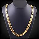 Χαμηλού Κόστους Κρεμαστά Κολιέ-Ανδρικά Γυναικεία Κρεμαστό Γεωμετρική Vertical Μοντέρνα Χρώμιο Χρυσό 50 cm Κολιέ Κοσμήματα 1pc Για Καθημερινά Δουλειά