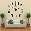 """ราคาถูก นาฬิกาติดผนัง DIY-นาฬิกาแขวน, แฟชั่น diy อะคริลิรอบในร่ม 102 * 105 เซนติเมตร (40"""" * 41"""")"""