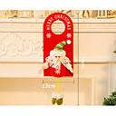 Χαμηλού Κόστους Γιορτινά αξεσουάρ-Χριστουγεννιάτικες κάρτες και ετικέτες Χριστουγεννιάτικα Διακοσμητικά Χιονάνθρωπος Υφασμα Ξύλινος Ενηλίκων Παιχνίδια Δώρο