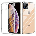 cheap iPhone Cases-Crystal Transparent Glass Case For iPhone 11/iPhone 11 pro TPU Double Clear Glass Drop Protective Cover For iPhone X/XR/XS Max