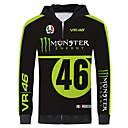 economico Giacche da motociclista-giacca moto vr46 monster jersey jersey per scaldamuscoli unisex primavera / autunno / inverno più caldo / traspirante / asciugatura rapida