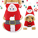 Χαμηλού Κόστους Παιχνίδια που Διώχνουν το Στρες-Σκύλος Στολές Χειμώνας Ρούχα για σκύλους Χριστούγεννα Στολές Βαμβάκι Χριστούγεννα