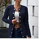 ราคาถูก กระเป๋าสะพายข้าง-สำหรับผู้หญิง เสื้อคลุมสุภาพ ปกคอแบะของเสื้อแบบพึค เส้นใยสังเคราะห์ สีดำ / ไวน์ / ขาว