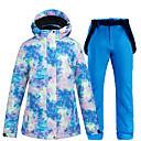 Χαμηλού Κόστους Ρούχα για σκι, σνόουμπορντ-ARCTIC QUEEN Γυναικεία Μπουφάν και παντελόνι για σκι Σκι Σνόουμπορτινγκ Χειμερινά Αθήματα Αδιάβροχη Αντιανεμικό Ζεστό POLY Φιλικό στο Περιβάλλον Πολυέστερ Παντελόνια Φόρμα Μπολύζες Ενδυμασία σκι