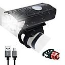 olcso Kerékpár világítás-LED Kerékpár világítás Kerékpár első lámpa LED Kerékpár Kerékpározás Vízálló 360° forgás Újratölthető elem 300 lm USB által Kerékpározás