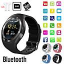 Χαμηλού Κόστους Έξυπνα Ρολόγια-Indear Y1 Αντρες γυναίκες Έξυπνο ρολόι Android iOS Bluetooth 2G Αδιάβροχη Οθόνη Αφής Αθλητικά Θερμίδες που Κάηκαν Κλήσεις Hands-Free