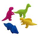 billige avstressere-Stresslindrende leker Dinosaur Office Desk Leker Spesial Material 4 pcs Teenager Alle Leketøy Gave