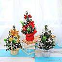 olcso Karácsonyi dekoráció-3db karácsonyfa 20cm újévi asztaldekoráció mini karácsonyfa dekorációs fa