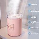 olcso párásítók-280ml ultrahangos légnedvesítő romantikus gyertya lágy fény illóolaj diffúzor usb autó tisztító aroma anin köd készítő