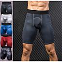 ราคาถูก เสื้อ, กางเกงขายาวและกางกางขาสั้นสำหรับใส่วิ่ง-สำหรับผู้ชาย ทำงานภายใต้กางเกงขาสั้น กางเกงขาสั้นรัดรูป สแปนเด็กซ์ กีฬา ฤดูหนาว กางเกงขาสั้น การบีบอัดสูท กางเกงใน การออกกำลังกาย ยิมออกกำลังกาย ออกไปทำงาน Lightweight Fast Dry ออกแบบตามสรีระ / ยืด