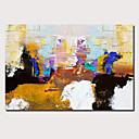 povoljno Dom i vrt-Hang oslikana uljanim bojama Ručno oslikana - Sažetak Pejzaž Comtemporary Moderna Uključi Unutarnji okvir