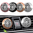 cheap Car Air Purifiers-1pcs Car Air Freshener Perfume Mini Fan Cute Auto Air Vent Clip Outlet fragrance smell force InteriorAuto Accessory Car-styling
