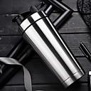 billige Hårpleie og styling-rustfritt stål sport vannflaske lekkasjesikkert protein blanding mer sunn milkshake shaker cup + riste ball (500 ml)