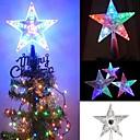 povoljno Svadbeni ukrasi-1pc pentagram vodio noćno svjetlo u obliku bljeskajućih lampica božićno drvce svjetla božićna obiteljska zabava ukras svjetla