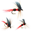 billiga Fiskbeten och flugor-8 pcs Flugor Flugor Flytande Bass Forell Gädda Flugfiske Färskvatten Fiske Karpfiske Metall