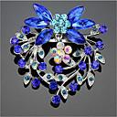 Χαμηλού Κόστους Μοδάτες Καρφίτσες-Γυναικεία Cubic Zirconia Καρφίτσες Γεωμετρική Santa Suits Στυλάτο Καρφίτσα Κοσμήματα Μπλε Για Χριστούγεννα Καθημερινά