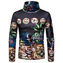 povoljno Naušnice-Majica s rukavima Muškarci - Boho Dnevno 3D Crn