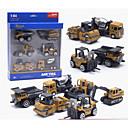billiga Toy Trucks & Construction Vehicles-1:64 Leksaksbilar Entreprenadmaskiner Entreprenadmaskiner Specialdesignade Simulering Föräldra-Barninteraktion Zink Alloy Pojkar 1 pcs