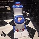 olcso Lábtörlők és szőnyegek-fürdőszoba lábtartó üléshuzat karácsonyi santa WC-üléshuzat és fürdőszőnyegek 1 készlet