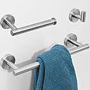 povoljno Ključanica-kupaonski pribor set kreativan moderni inox 3pcs - kupaonica / hotelska kadica zidna