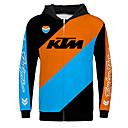 olcso Motoros dzsekik-ktm motorkerékpár trikó ruha dzseki az unisex polyster tavaszi őszi / téli melegebb / lélegző / gyors száraz