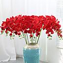 Χαμηλού Κόστους Ψεύτικα Λουλούδια & Βάζα-9 τεχνητές ορχιδέες ορχιδέα πλαστά λουλούδια διακοσμημένα ρύθμιση γάμου λουλούδι