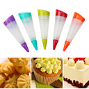 Χαμηλού Κόστους Εργαλεία ψησίματος και ζαχαροπλαστικής-σιλικόνη διακοσμητές επιδόρπιο κέικ cupcake διακοσμητικά στυλό πάγου σωλήνα κοστούμι κέικ διακόσμηση εργαλεία
