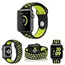 ราคาถูก วง Smartwatch-สายนาฬิกา สำหรับ Apple Watch Series 5/4/3/2/1 Apple สายยางสำหรับเส้นกีฬา ยางทำจากซิลิคอน สายห้อยข้อมือ