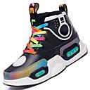 Χαμηλού Κόστους Φορέματα για κορίτσια-Αγορίστικα / Κοριτσίστικα LED / Φωτιζόμενα παπούτσια Συνθετικά Αθλητικά Παπούτσια Μεγάλα παιδιά (7 ετών +) LED Μαύρο / Βυσσινί Φθινόπωρο / Χειμώνας