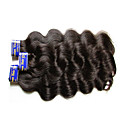 """Χαμηλού Κόστους Πλεξούδες μαλλιών-3 δεσμίδες Περουβιανή Κυματομορφή Σώματος Αγνή Τρίχα Χωρίς επεξεργασία Ανθρώπινη Τρίχα Υφάνσεις ανθρώπινα μαλλιών 10""""~30"""" Φυσικό Υφάνσεις ανθρώπινα μαλλιών / Αμεταποίητος"""