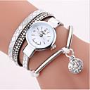 Χαμηλού Κόστους Ρολόγια-Γυναικεία ρολό περιτυλίγματος Χαλαζίας Δέρμα Καθημερινό Ρολόι Αναλογικό Καθημερινό